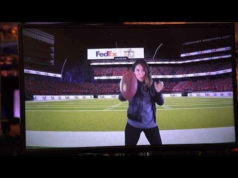 VIDEO: Super Bowl goes techno