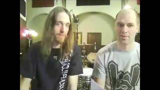 SOILWORK - In Studio (1-28-10) - PART 1 - The Panic Broadcast