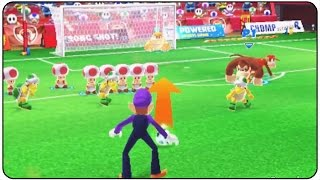 Mario Sports Superstars (3DS) - Football Gameplay