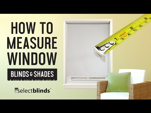 How to Measure Window Blinds and Shades | SelectBlinds.com