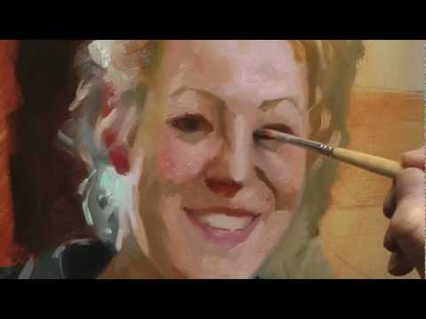 Professional portrait painting process free painting lessons for Portrait painting tutorial