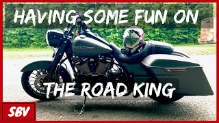 7. Having Some Fun On The Road King - Harley Davidson Road King Special