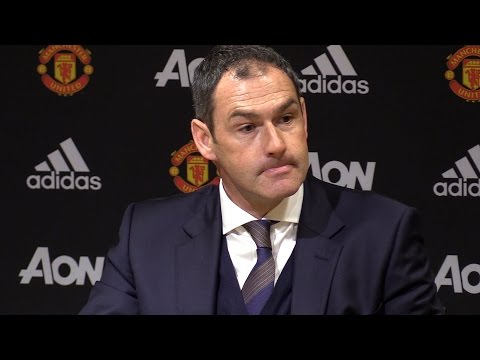 Manchester United 1-1 Swansea City - Paul Clement Full Post Match Press Conference