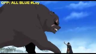 One Piece - Naguri Haoshoku/Conqueror King's Haki #OPP:ALL BLUE