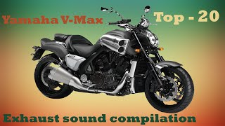9. Yamaha V-Max best exhaust sounds. Top 20