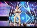 Junior Haha On Americas Got Talent   Cactus Eating!!! Season 9 Ep. 5