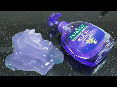 Hand Soap and Sugar Slime, No Glue Clear Slime with Hand Soap and Sugar, 2 ingredients Clear Slime