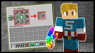 HOW TO CRAFT THE RAINBOW PICKAXE...