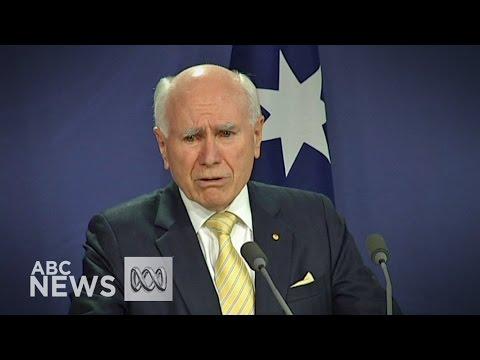 John Howard pays tribute to Abbott, congratulates Turnbull