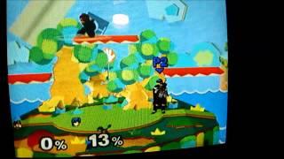 Mario/Doc edge-canceled up-b on YS