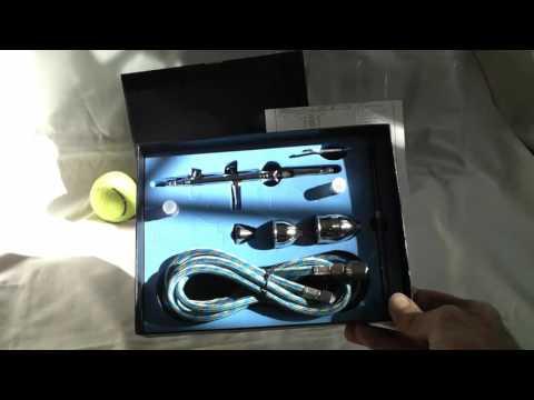 Azione gravità kit dual feed aerografo con la pistola a spruzzo 05/02 / 13