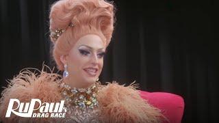 The Pit Stop Season 4 Episode 3: Laganja Estranja Spills the Tea | RuPaul's Drag Race All Stars 4
