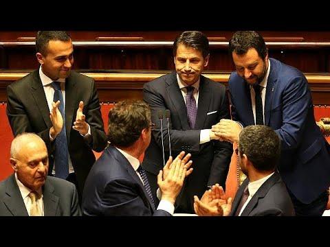 171 JA, 117 NEIN: Italiens Senat stimmt mehrheitlich für Conte