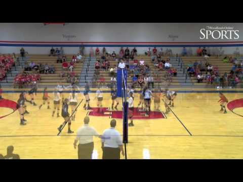 Tomball vs. Oak Ridge Volleyball Highlights