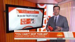 TODAY SHOW with Carson Daly in the Orange Room! Featuring Geico Unskippable Family