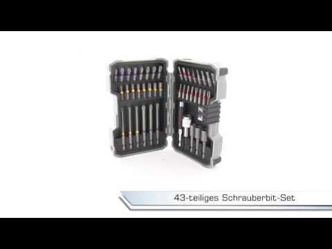 Bitsatz 43-teilig Bosch   -   LAYER-Grosshandel