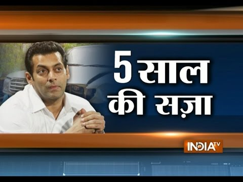 What's Next: Salman Khan Sentenced to 5-years in Jail in Hit-and-Run Case - India TV