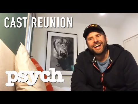 Psych Cast Reunites To Talk Classic Moments | Psych Official