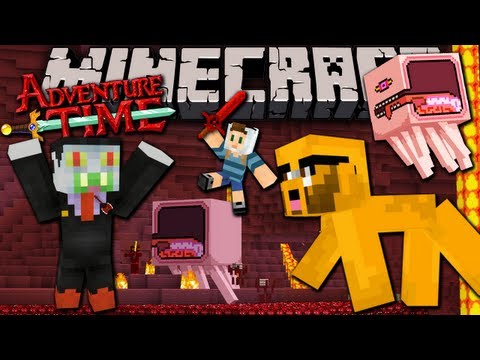 Minecraft: Adventure Time! Map Quest in Ooo with Jake - FINALE Ep.7 - Nightosphere Knightmare