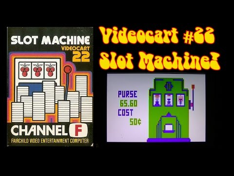 The Channel F Files Videocart 22 Slot Machine Gameplay!