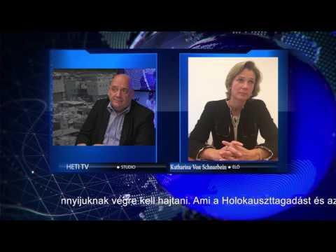Katharina Von Schnurbein – Coordinator at European Commission, combating Antisemitism
