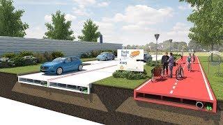 Из пластика теперь строят дороги?