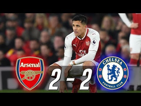 Arsenal vs Chelsea 2-2 All Goals & Highlights 2018 (Last Matches) HD