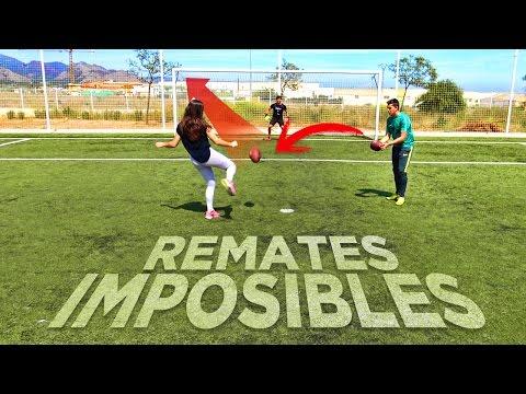 REMATE 99% IMPOSIBLE Y NUEVA CHICA CRAZY!!! ¡RETO FÚTBOL!