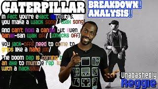 Eminem's Caterpillar Verse - Lyrics/Bars Breakdown | REACTION! ANALYSIS!