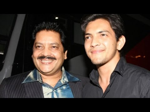 Aditya & Udit Narayan On Sets Of 'The Voice India'