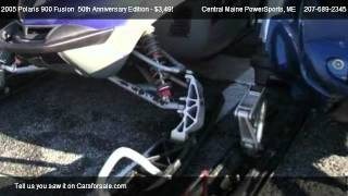 4. 2005 Polaris 900 Fusion  50th Anniversary Edition  - for sale in LEWISTON, ME 04240