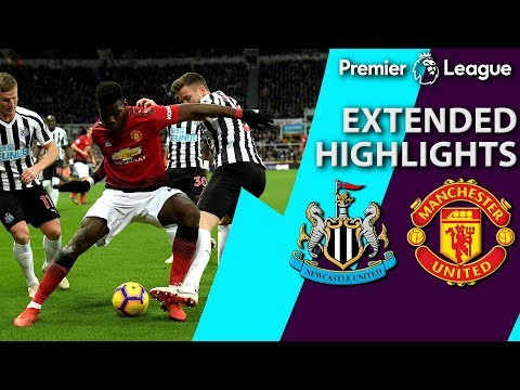 Video: Newcastle v. Manchester United | PREMIER LEAGUE EXTENDED HIGHLIGHTS | 1/2/19 | NBC Sports