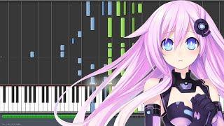 Video Go Love & Peace - Hyperdimension Neptunia The Animation ED 2 / Mk 2 ED (Piano Synthesia) MP3, 3GP, MP4, WEBM, AVI, FLV Agustus 2019
