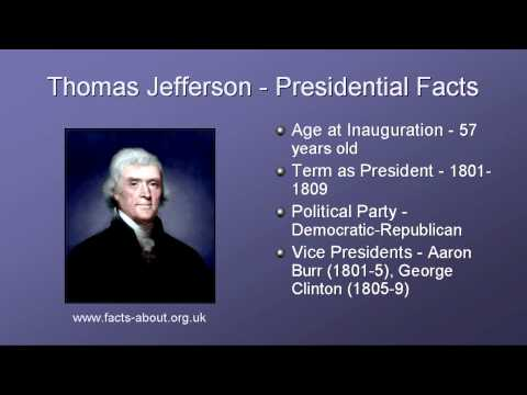 achievements of thomas jefferson as the 3rd president of the united states