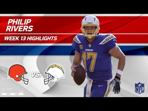 Video: Philip Rivers Gets the Win w/ 344 Yards vs. Cleveland! | Browns vs. Chargers | Wk 13 Player HLs