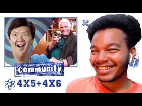 Community Season 4 Episode 5 and Episode 6 REACTION!