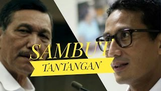 Video SANDIAGA SAMBUT TANTANGAN LUHUT MP3, 3GP, MP4, WEBM, AVI, FLV Desember 2017