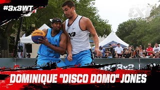 Check out Dominique Jones of NY Harlem, and some of his most spectacular moments from the FIBA 3x3 World Tour Saskatoon Masters 2017!Subscribe to the FIBA3x3 channel: http://bit.do/SubscribeFIBA3x3More on:http://twitter.com/FIBA3x3http://www.facebook.com/FIBA3x3http://fiba3x3.comhttp://instagram.com/FIBA3x3