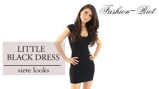 Ideas para combinar un vestido negro - Little Black Dress