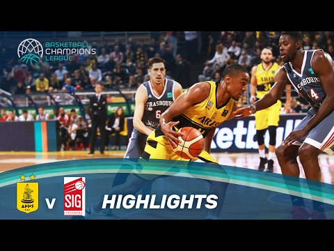 Video Aris v SIG Strasbourg - Highlights - Basketball Champions League download in MP3, 3GP, MP4, WEBM, AVI, FLV February 2017
