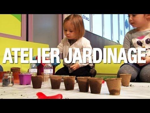 Atelier jardinage pour les enfants � partir de 2 ans