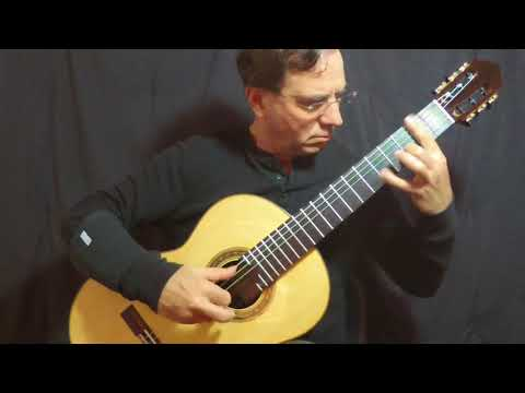 Sonata K.11 Played By Charles Mokotoff Guitar