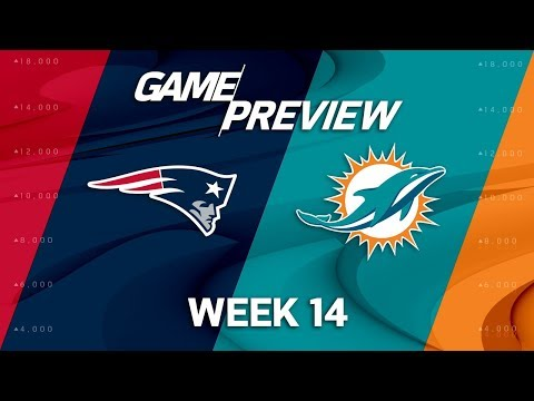 Video: New England Patriots vs. Miami Dolphins | NFL Week 14 Game Preview
