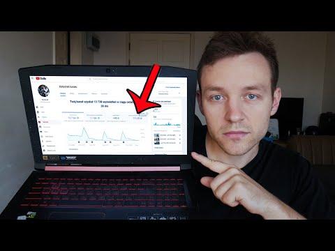 Ile YouTube Zapłacił Mi Za 100,000 Wyświetleń? - Pokazuje Prawdziwe Zarobki na YT
