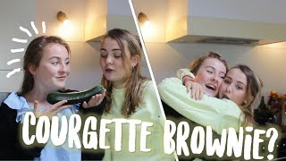 ONTMOET MIJN TWEELINGZUS! Brownie met courgette? - EVI HEEMSKERK Video