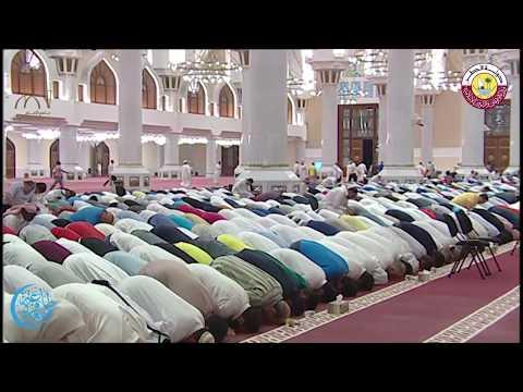 صلاة العشاء والتراويح بجامع الامام محمد بن عبد الوهاب يوم الجمعة 30 شعبان 1438 هجريا