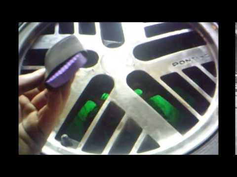 1985 Fiero Wheel polish