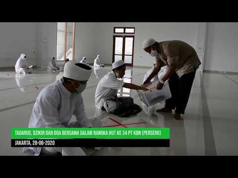Tadarus, Dzikir dan Doa Bersama Dalam Rangka HUT ke 34 PT KBN Persero