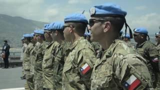 """El sábado 15 de julio, arribó al puerto de Valparaíso el buque """"Sargento Aldea"""" cerrando definitivamente la participación de Chile..."""