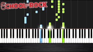 """Teacher's Pet"" - School of Rock - Piano Tutorial Peter PlutaX  Peter PlutaX"